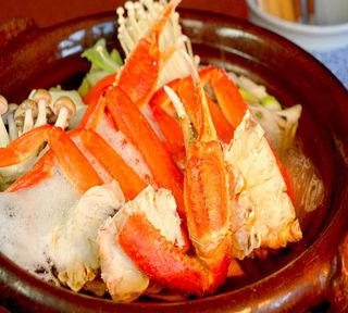 【蟹鍋】冬は鍋を囲んで温まろう!乾杯ドリンク付き