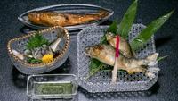 【天然鮎会席】夏グルメ!塩焼き・背ごし・唐揚など清流美山川の鮎料理に舌鼓