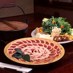 丹波の地猪肉!濃厚な旨味◆冬はほっこりぼたん鍋