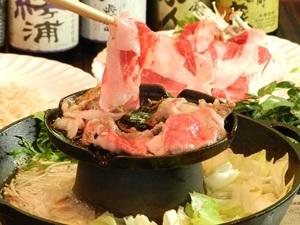 【当館人気】自慢の牛焼きシャブ食べ放題!