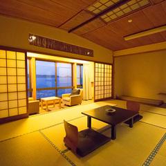海側和室10畳☆−お風呂は大浴場がご利用頂けます。