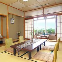 【喫煙】海側スタンダード和室〜夕食お部屋食
