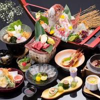 【夕食お部屋食】料理長イチオシ!鯛・熊野牛・伊勢海老・蛸飯会席
