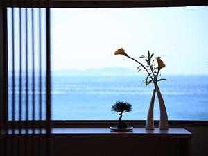 """【ゆったり大人な時間】お部屋の窓から""""紀淡海峡""""を一望『今日は何もしない』贅沢プラン【3大特典付】"""