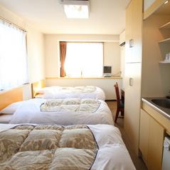 トリプルルーム(ベッドが3つのお部屋)