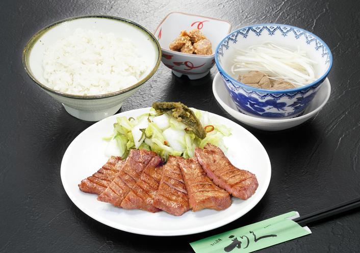 【牛たん炭焼 利久お食事券付】仙台名物牛たん定食付プラン【1泊2食】