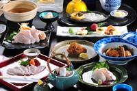 幻の魚【天然本九絵】♪クエづくし会席プラン