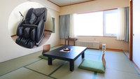 禁煙☆【マッサージチェア付】和室8畳