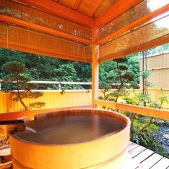 露天風呂付和室【鹿観の棟 山側/客室シャワー・トイレ付】