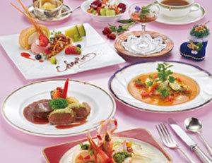 ホテルの特製♪洋食フルコースディナー付き1泊2食