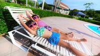 ☆ガーデンプールOPEN☆夏休みは家族でワイワイ♪【プール2H利用券付】Wバイキングプラン