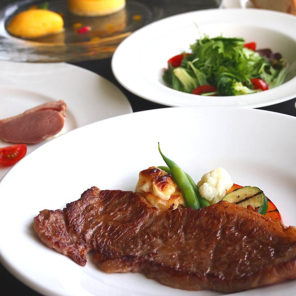 山陰産和牛ステーキコース イメージ