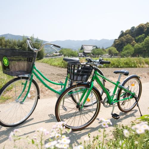 【☆レンタサイクルプラン☆】自転車で行く!橿原&飛鳥を満喫旅♪【朝食付】