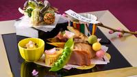 【夕朝食付】季節の和食会席〜基本コース〜