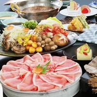 【しゃぶしゃぶ会席】ご家族やグループで♪はくばの豚を味わうしゃぶしゃぶ会席 〜日本料理〜