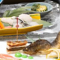 【和食・夏】スタンダード◇梅酒で乾杯!焼南高梅を使った料理長オリジナルあっさりしゃぶしゃぶ食べ比べ鍋