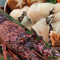 【夕朝食付き・クエ会席×伊勢海老】クエを食ったら他の魚食えん!贅沢な季節限定の味覚堪能!