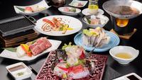 【春グレードアップ】美味しい食材を少しずつ味わう量が少なめの会席「厳選少量会席」(4〜5月)