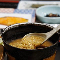 ◆リニューアル◆【茶粥朝食】素朴な味が人気!卓上で炊く奈良名物の茶粥をお楽しみください♪