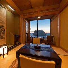 【海の絶景】和室6畳+和室4.5畳+広縁(エコノミータイプ)