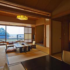【海の絶景】和室10畳+4.5畳+広縁(デラックスタイプ)
