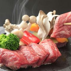【春夏旅セール】<個室食>清流大岩魚しゃぶと信州牛ステーキの信州野菜と自家製林檎ソース添え/春休み