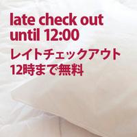 朝はゆっくり☆レイトチェックアウト12時プラン【素泊】