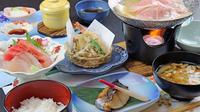 遊食酒房 栄楽で地場産食材を使ったお料理とへルシー手作り豆腐がうれしい!1泊2食付き