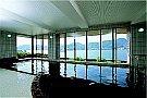 目の前に長崎港を一望できる展望大浴場「鉱火石の湯」