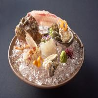 【夕食付】香川を堪能する「瀬戸内の旬の魚姿造り」懐石コース<専用ラウンジアクセス付き>