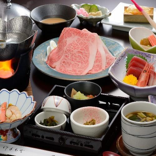 「感謝プラン」花巻産白金豚<プラチナポーク>の季節鍋膳10品