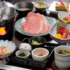 【旅館部・最安値プラン!】花巻産白金豚<プラチナポーク>の季節鍋膳10品