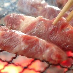 【平日限定 あわび炭火焼+牛ステーキ 【囲炉裏】プラン♪