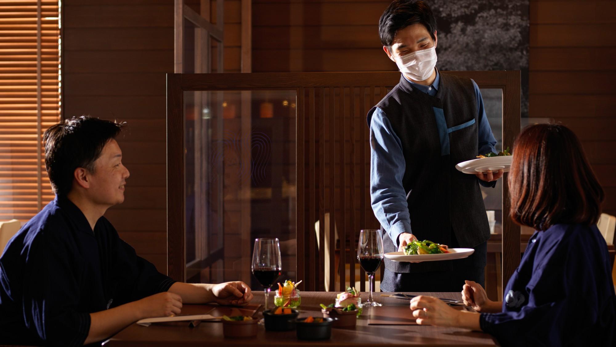 【朝は和定食】朝はゆっくりと料理茶屋で和定食を/ビュッフェ