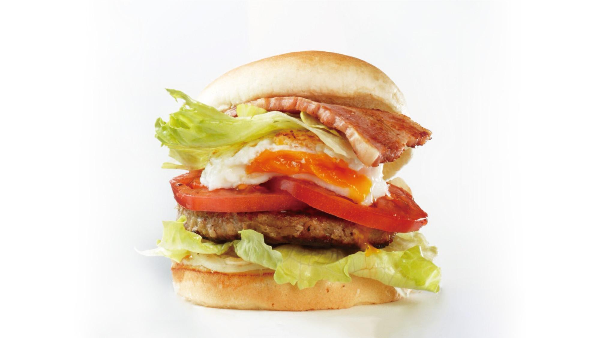 【特製ハンバーガー】翌日のランチにも!ご当地グルメ「千歳バーガー」セット付き/ビュッフェ