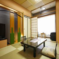◆禁煙室◆和室10畳+2畳マッサージチェアー付客室◆5名定員