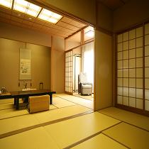 ◆金泉◆和室二間続きのデラックス露天風呂付き客室◆