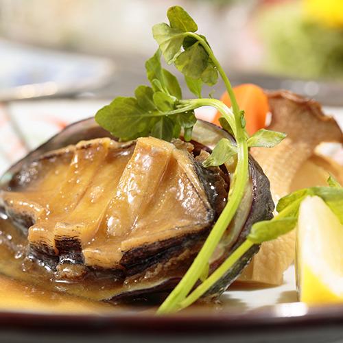 ◆お肉&海鮮の Wステーキ◆アワビステーキ&牛ステーキ&海鮮会席色々≪貸切露天無料≫