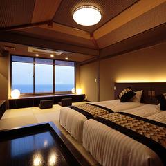 5階フロア海絶景「藍の詩」◆和ベッドタイプ