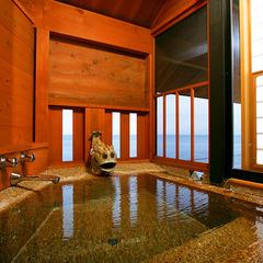 海と夕陽一望の半露天付客室◇みずいらずの間「静の海」
