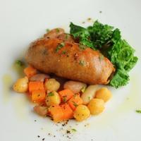 【イタリアン】能登牛・能登豚グレードアップコース、メインは能登牛ステーキ。地物野菜とお肉を堪能