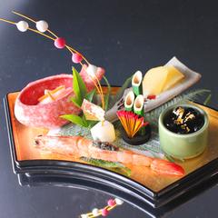 【新春和食会席】ズワイ蟹、能登牛、のどぐろ。グレードアップの和会席で贅沢にお祝いする迎春