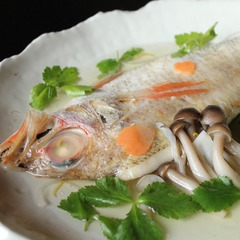 【のどぐろ会席】加賀蒸し、塩焼き、〆は釜飯。旬食材と共に味わう幻の高級魚「のどぐろ」の旨味を堪能
