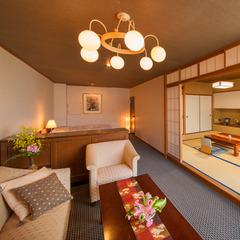 【陶川閣◆和洋室】(和室10畳+ベッド)〜眺望◎角部屋〜