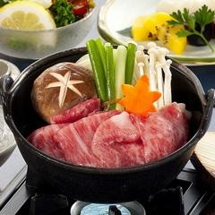 【1泊2食】夕食は松阪牛!選べる1人すき焼か陶板焼でどうぞ♪