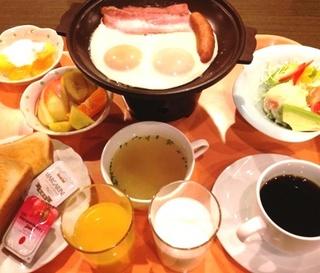 旬の和朝食または洋朝食。選べる朝食付きプラン