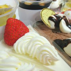 千歳市の有名パティスリー『もりもと本店』のケーキ付き