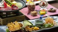 個室食事処を確約!夕食グレードアッププラン 箱根の名湯と旬の味を愉しむ♪