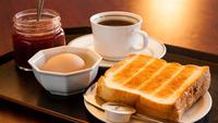 【トーストセット】パッと食べれる軽めの朝食