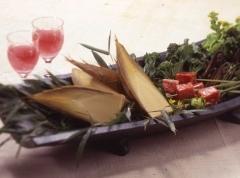 春の味覚を味わう 筍と山菜・丹波牛会席 宿泊プラン